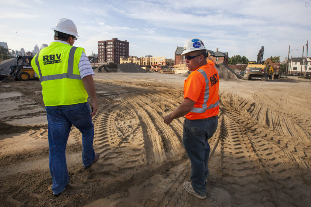 September 25, 2017, RBV Contracting sites: Brush Park.